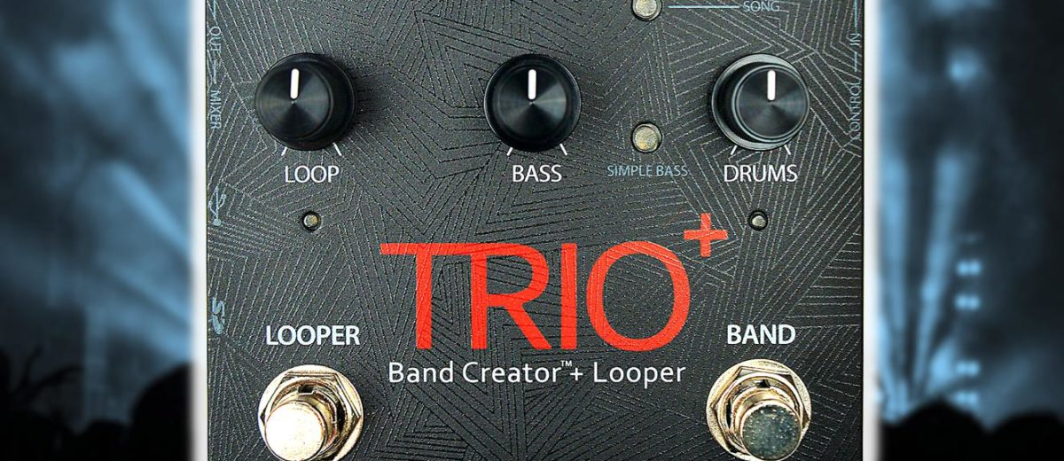 Digitech Trio + Looper : le groupe de poche